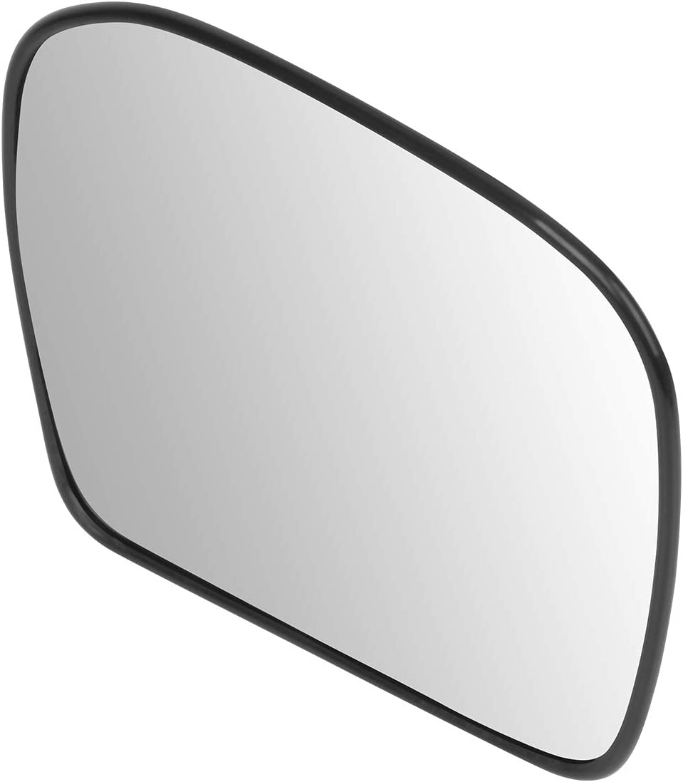 DNA Motoring OEM-MG-0495 879313D020 OE Style Passenger//Right Heated Mirror Glass