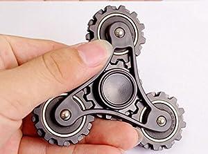 Livoty Tri-Spinner Fidget Hand Spinner Camouflage Multi-Color EDC Focus Toys