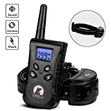 Nigecue Dog Training Collar with Remote, Two Dog Collar, Waterproof and Rechargeable Bark Collar, 500 Yard Remote for Small Medium Dogs,Beep Vibration and Shock Electronic Collar 3 Training Modes For Sale