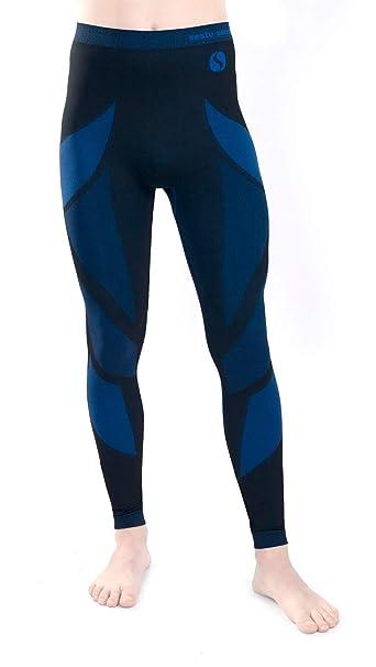 Sesto Senso Ropa Interior Térmica para Hombre Funcional Calzoncillos Largos Pantalones Leggins Termo Activo (S