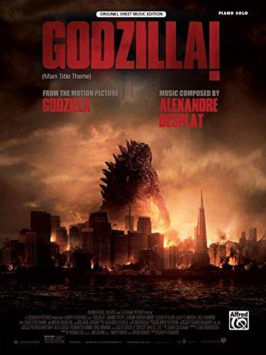 Download Godzilla! (from the Motion Picture Godzilla): Prologue/Main Title (Piano Solo), Sheet pdf epub