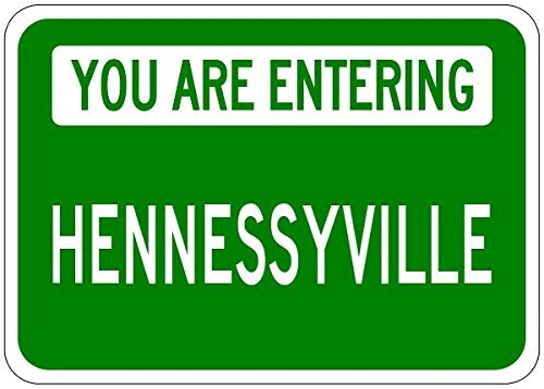 you-are-entering-hennessyville-customized-hennessy-lastname-12x16-metal-tin-sign-aluminum-signs