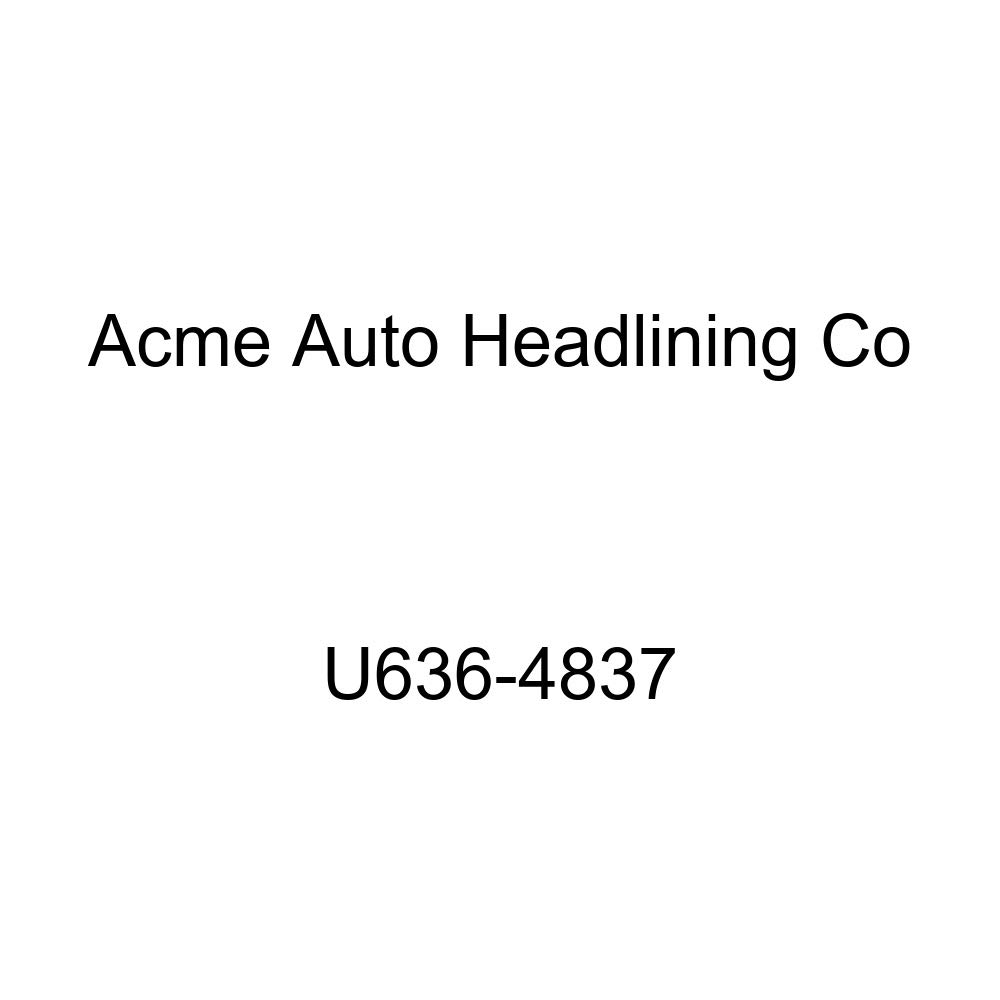 Acme U636-4837 Medium Blue Vinyl Front Bucket and Rear Bench Seat Upholstery