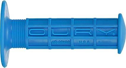 OURY ATV GRIPS  BLUE OSCFOG40