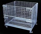 """Metal Pallet Wire Baskets, 40"""" x 48"""" x 42"""""""