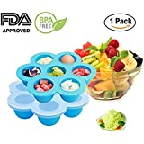 EH-LIFE Baby Food Freezer Tray Food Storage Container...