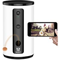 WOpet Smart Pet Camera:Dog Treat Dispenser, Full HD WiFi Pet Camera with Night Vision for Pet…