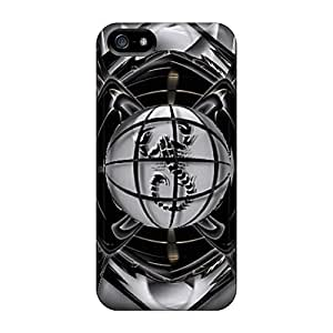 Excellent Iphone 5/5s Case Tpu Cover Back Skin Protector Black Scorpion