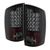 Spyder Auto 5078094 LED Tail Lights Black/Smoked