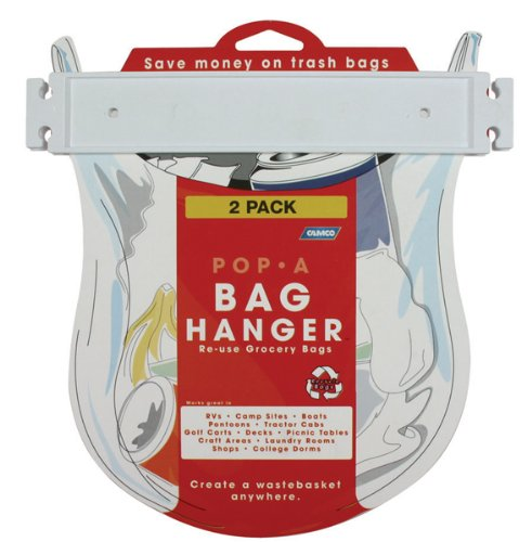 Camco 43593 Pop-A-Bag Hanger - Pack of 2