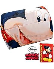 Colcha edredón de matrimonio de Mickey Mouse para cama de 2plazas, 240x 250cm. Colcha de invierno para niño de Disney