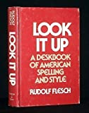 Look It Up, Rudolf Flesch, 0060112921