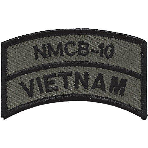 NMCB-10 Vietnam OD Patch