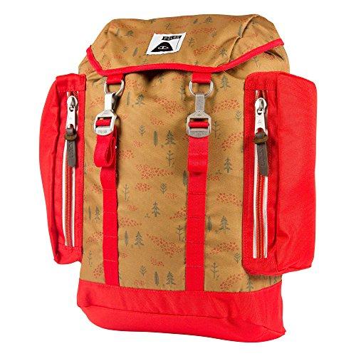 50 Forestry 25 x Rucksack x Bag Almond Mochila 40 6 unisex Bag Print Camo Green Liter POLER cm qO0aSO