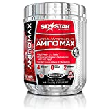 Six Star Pro Nutrition Intra Workout Amino Max BCAAs, Fruit Punch, 30 Servings