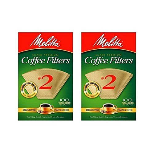 - COFFEE FILTER #2WHT100CT