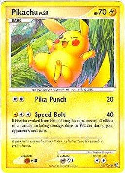 Pokemon Diamond & Pearl Stormfront Single Card Pikachu #70 Common [Toy] by Pokémon