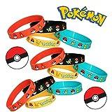 24 PCS Pokemon Rubber Bracelets Wristband -Birthday Party - Best Reviews Guide