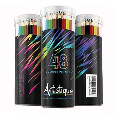 Artistique Premium Colored Pencils - Set of 48 - Assorted Colors