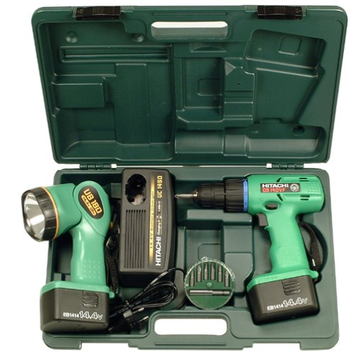 Hitachi DS14DVF 14.4 Volt 3/8-Inch Cordless Drill (Discontinued by Manufacturer)