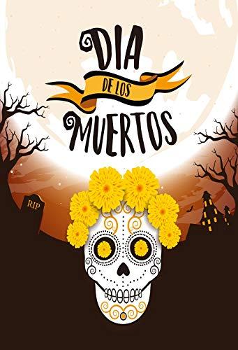 Yeele 5x7ft Dia De Los Muertos Background for