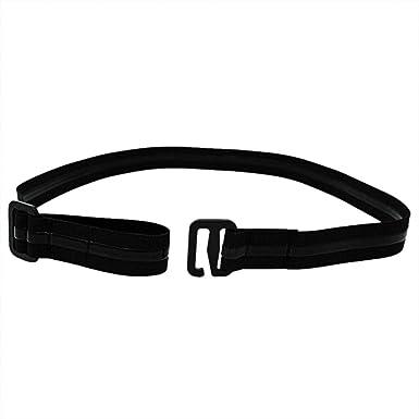 ALLTA Hombres Correa antiarrugas para mujer Camisa ajustable cerca de la estancia: Mejor camisa Estancias Camisa negra con cinturón de Tuck It Camisa para hombre con pliegues (A) (B): Amazon.es: Ropa y