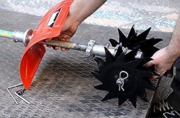 Fresadora suelo azada compatible Stihl fs450, FS480 FS 450 ...