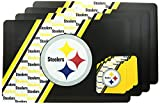 NFL Pittsburgh Steelers Placemat Coaster Set