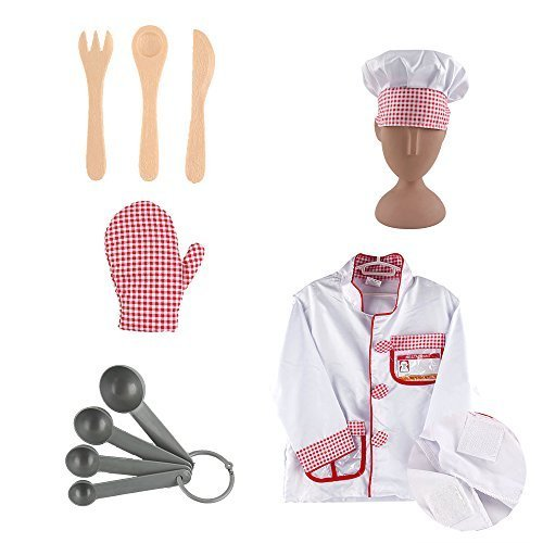 iPlay, iLearn Chef Role Play Costume Set (3-6 Years) (Chef Costume Boys compare prices)