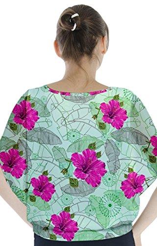 CowCow - Camisas - para mujer Green Hawaii