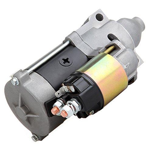 SCITOO Starters compatible for John Deere Gator TX Kawasaki KAF400 Mule 600 2005-2015 KAF400 Mule 610 4x4 2005-2015 KAF400 Mule 610 4x4 Hardwoods 2006-2009 / Realtree APG 2006-2012 / XC ()