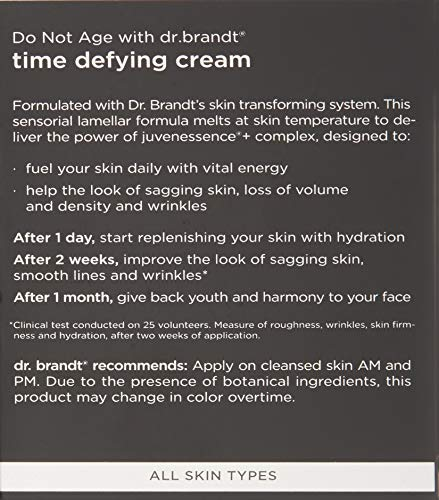 Dr. Brandt Skincare Do Not Age with Dr. Brandt Skincare Time Defying Cream, 1.7 oz