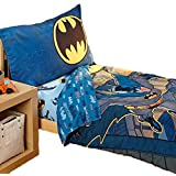 Batman 4 Piece Toddler Bedding Set