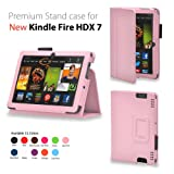 Elsse For Kindle Fire HDX 7 - Premium Folio Case for All New Kindle Fire HDX 7