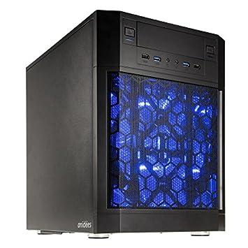 anidees AI7 Cubo Negro carcasa de ordenador - Caja de ordenador (Cubo, PC,