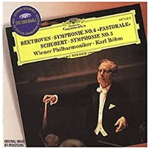 Beethoven: Symphony No. 6, Schubert: Symphony No. 5 / Böhm, Vienna Philharmonic Orch.