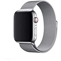 SWISH Apple Compatible Mesh Watch Band with Magnetic Closure 38/40mm or 42/44mm in Silver, Black, Rose Gold