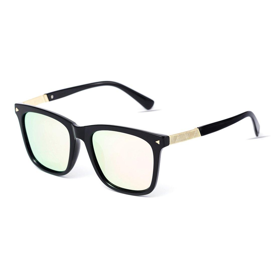 f929553baa MT gato MIT anteojos de sol anteojos polarizadas con lente espejo de espejo  para gato con protección UV400 Rosado b32af96 - bellatoneskin.review