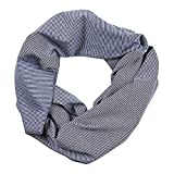 Clearance WUAI Womens Loop Scarf with Hidden Zipper Pocket Lightweight Infinity Fashion Scarf & Head Wrap (A,Free Size)