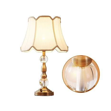 Lámpara de mesa de cristal decorativa de la sala de estar de ...