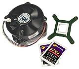 HP DX2295 MT Intel Class K Heatsink Fan 458806-001 Inc. Alcohol Pad and Grease