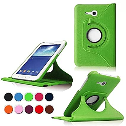 cheap for discount 7bcfe 34028 Amazon.com: Samsung Galaxy Tab 3 Lite 7.0 Case,Green 360 Degrees ...