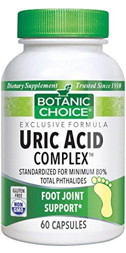 Botanic Choice Uric Acid Complex, 60 Capsules