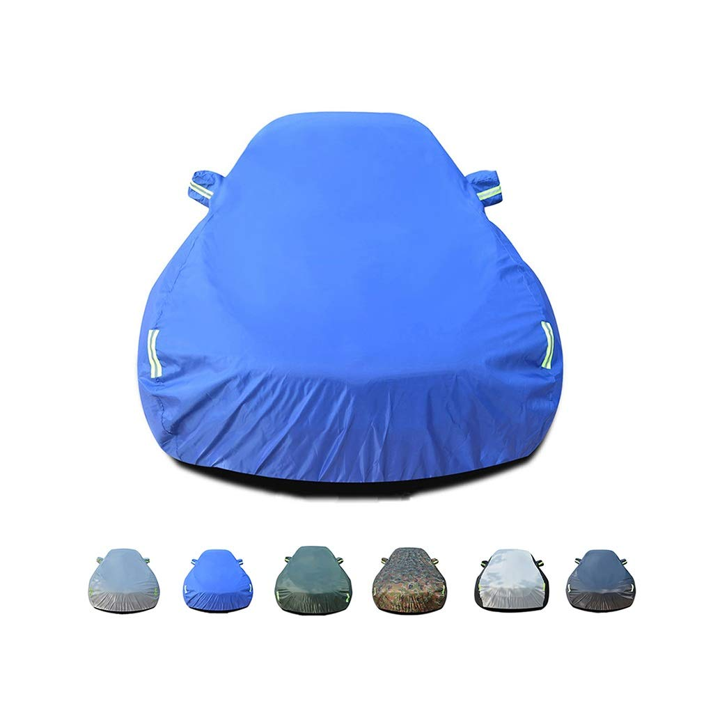 Dustproof UV Resistant Non-flammable Suitable For Mercedes Windproof GXYGWJ Car Cover Rainproof AMG Grade CLS Alternate Use Inside And Outside Car cover Color : A Oxford Cloth Cover