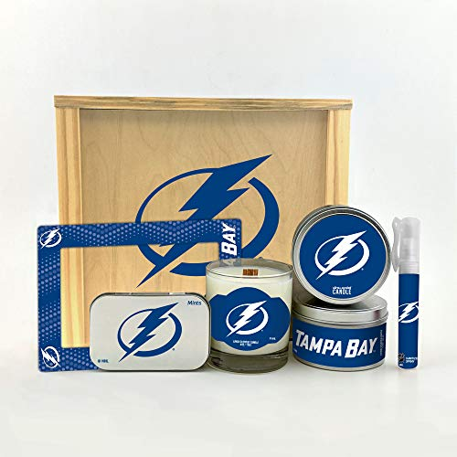 Tampa Bay Portrait Lightning - Worthy Promo NHL Tampa Bay Lightning Gifts Home Décor Gift Box for Women and Men Valentine's Day, Mother's & Father's Day, Easter, Birthday, Christmas