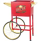 Great Northern Popcorn Company 83-DT5708 Red Replacement Cart for Larger Princeton Style Machines
