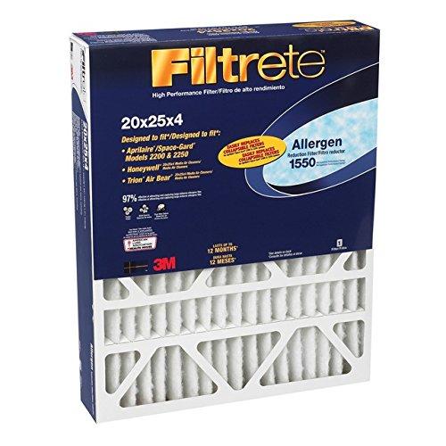 3M DP03DC-4 20 X 25 X 4 Allergen Reduction Filters 1550 3m Co.