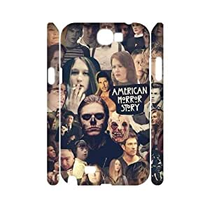 American Horror Story Personalized 3D Cover Case for Samsung Galaxy Note 2 N7100,customized phone case ygtg-770488