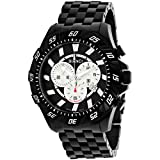 ROBERTO BIANCI WATCHES Men's 'Valentino' Swiss Quartz Stainless Steel Casual Watch, Color:Black (Model: RB70604)