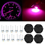 CCIYU 4 pcs Stepper Motor X27.168 Speedometer Cluster Repair Kit +10x 4.7mm 3-3014-smd Led Violet